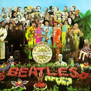 cover of Sgt. Pepper's Lonely Hearts Club Band